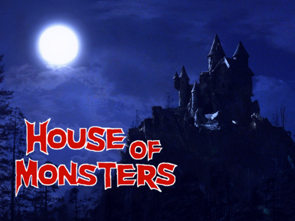 HOUSE OF MONSTERS  stop-motion short film's video poster