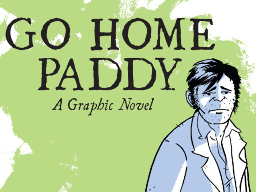 Go Home Paddy: A Graphic Novel's video poster