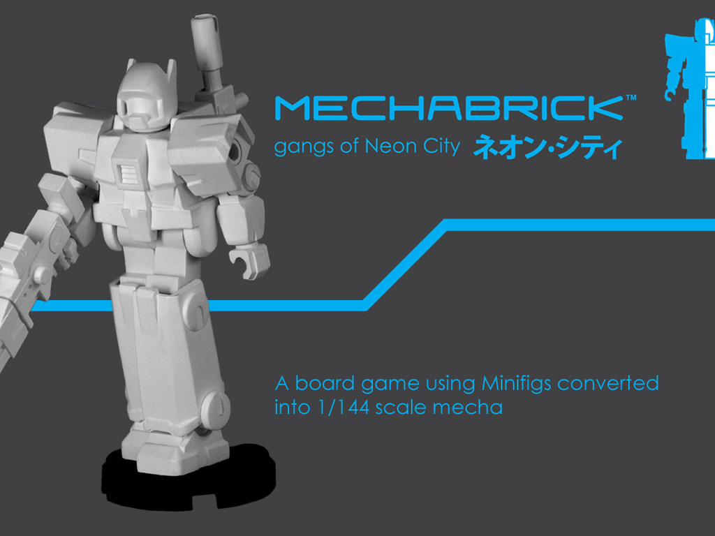 Mechabrick - A Minifig/Mecha board game and models's video poster