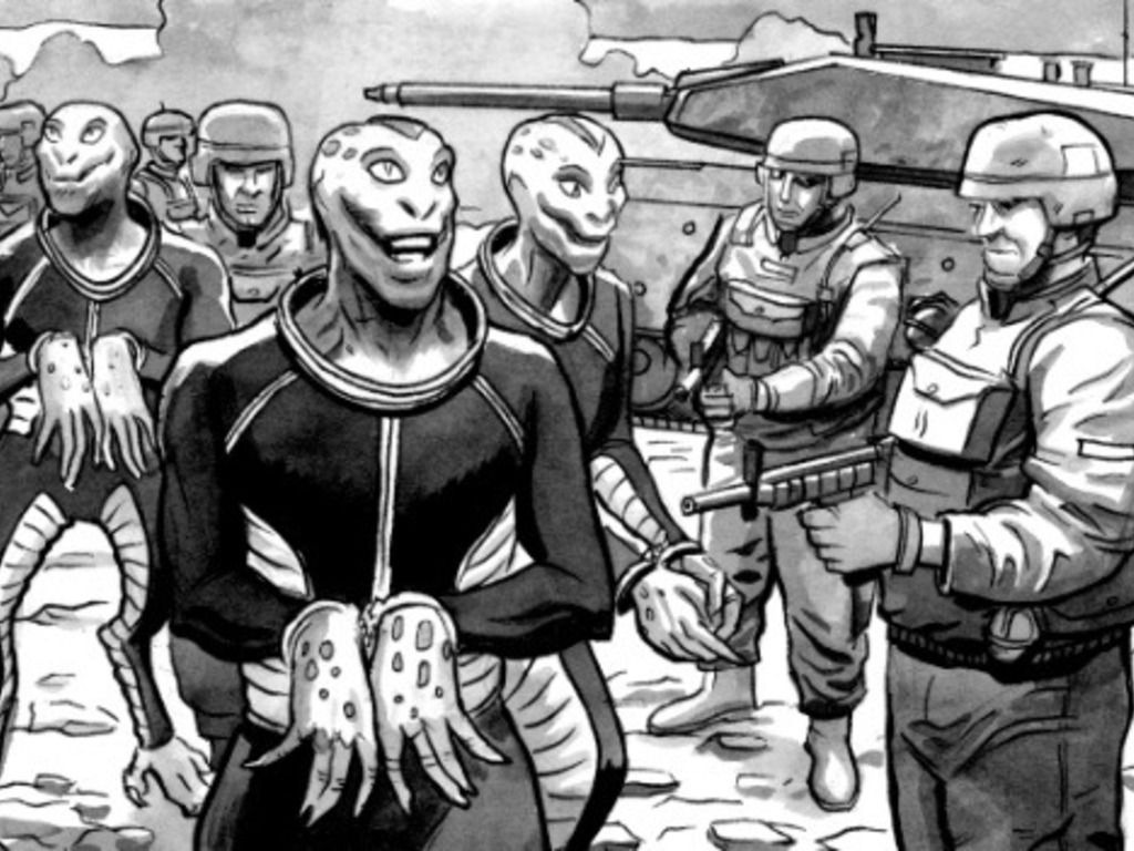 Sea Monster: The Graphic Novel's video poster