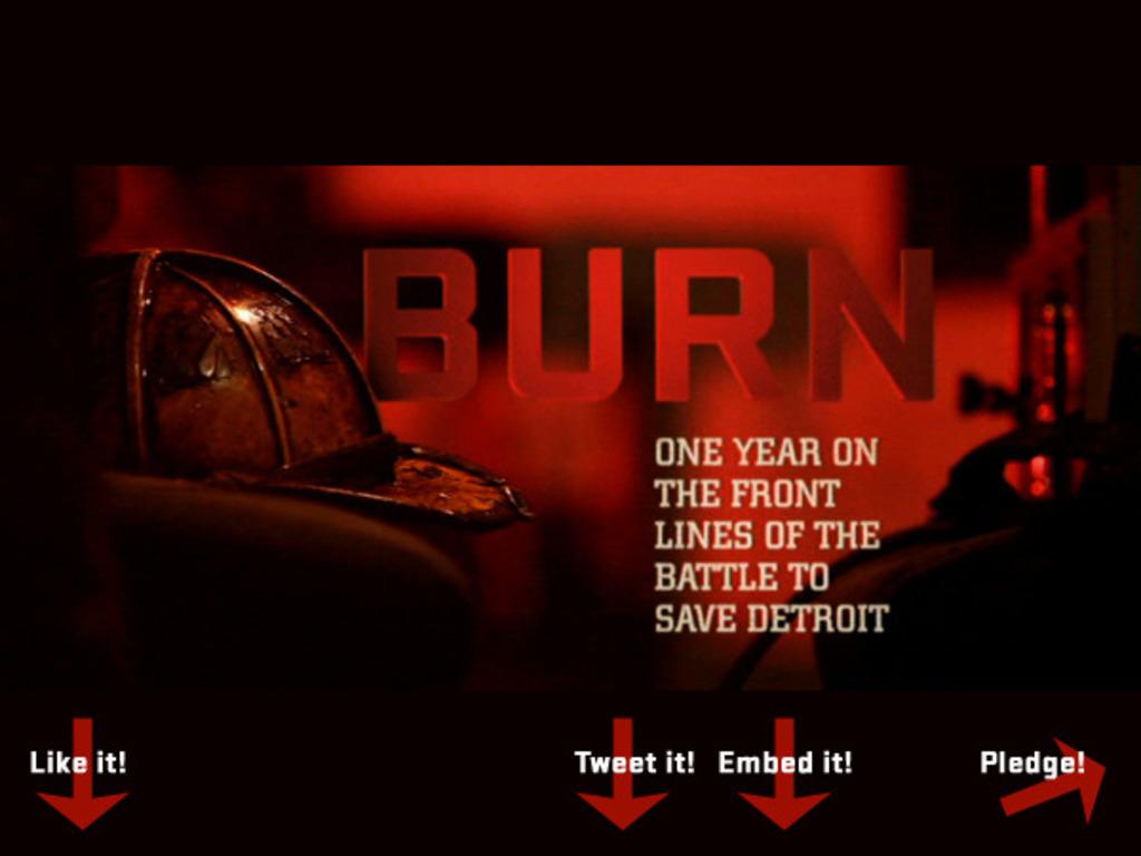 BURN: The Detroit Firefighter Documentary's video poster
