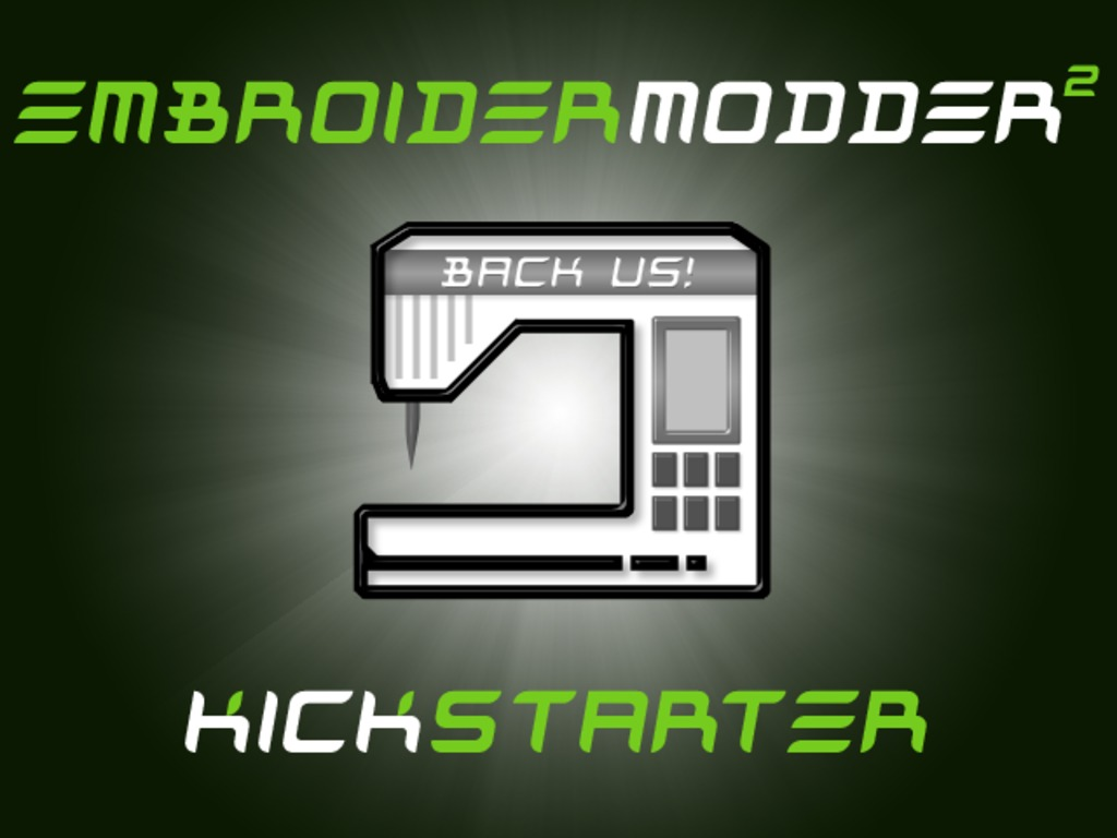 Embroidermodder 2 for Windows, Mac, Linux, Pi and Arduino's video poster