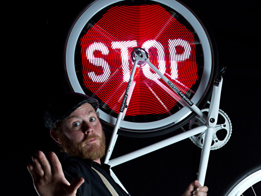 Monkey Light Pro - Bicycle Wheel Display System's video poster