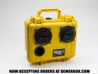 DEMERBOX - Rugged Wireless Boomboxes