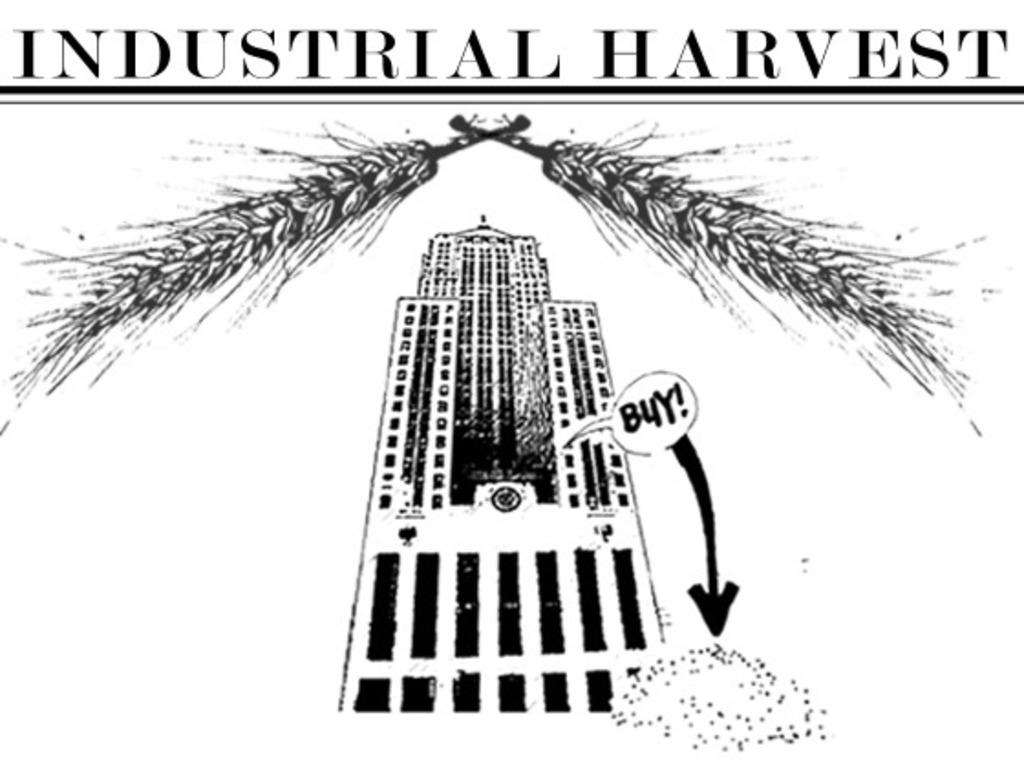 Industrial Harvest:  art, food and 1000 bushels of wheat's video poster