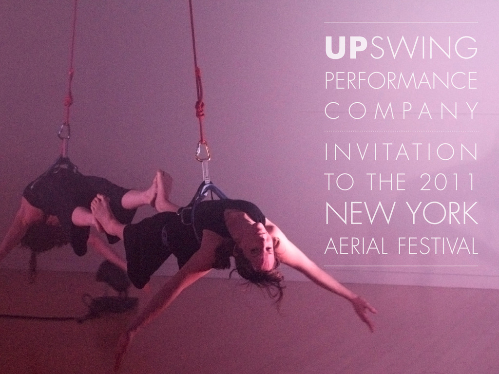 UpSwing Performance Company Invited to NY Aerial Festival's video poster