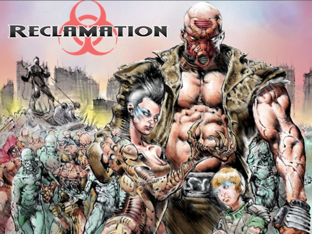 Reclamation: Post-Apocalyptic Horror RPG's video poster