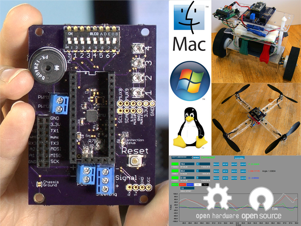 The TiltyIMU: A Family of User-Friendly Robotics Controllers's video poster