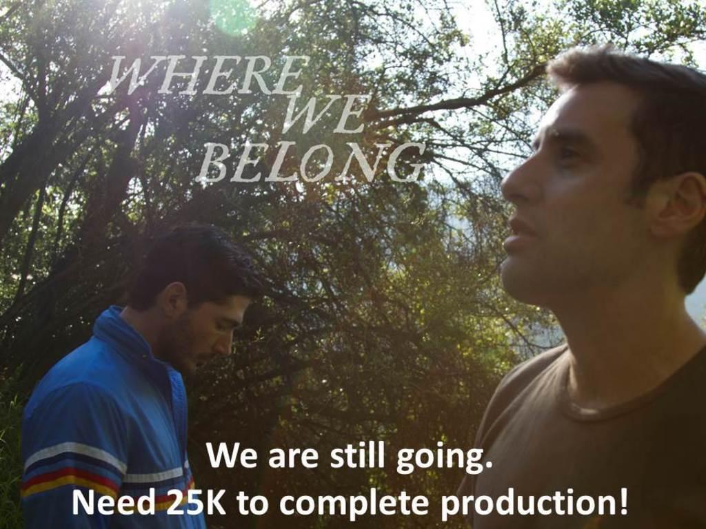 Where We Belong's video poster