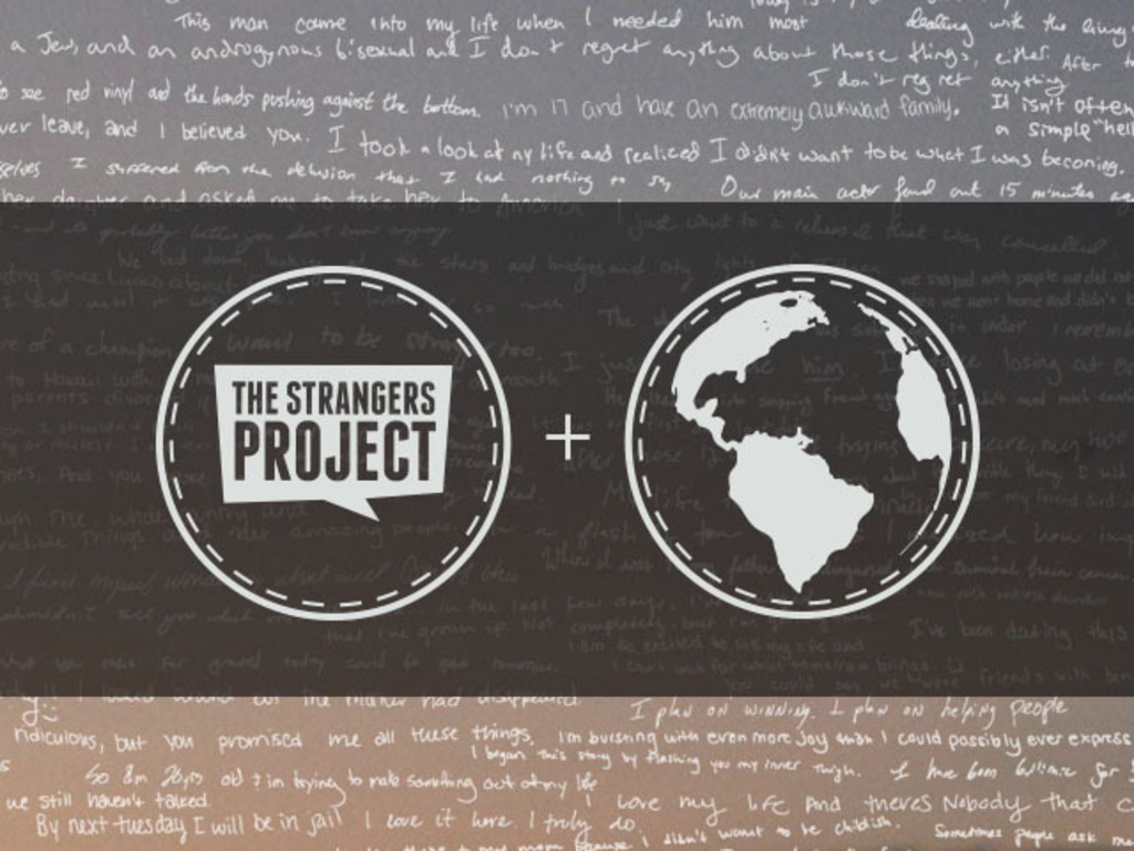The Strangers Project Presents: International Story Day's video poster