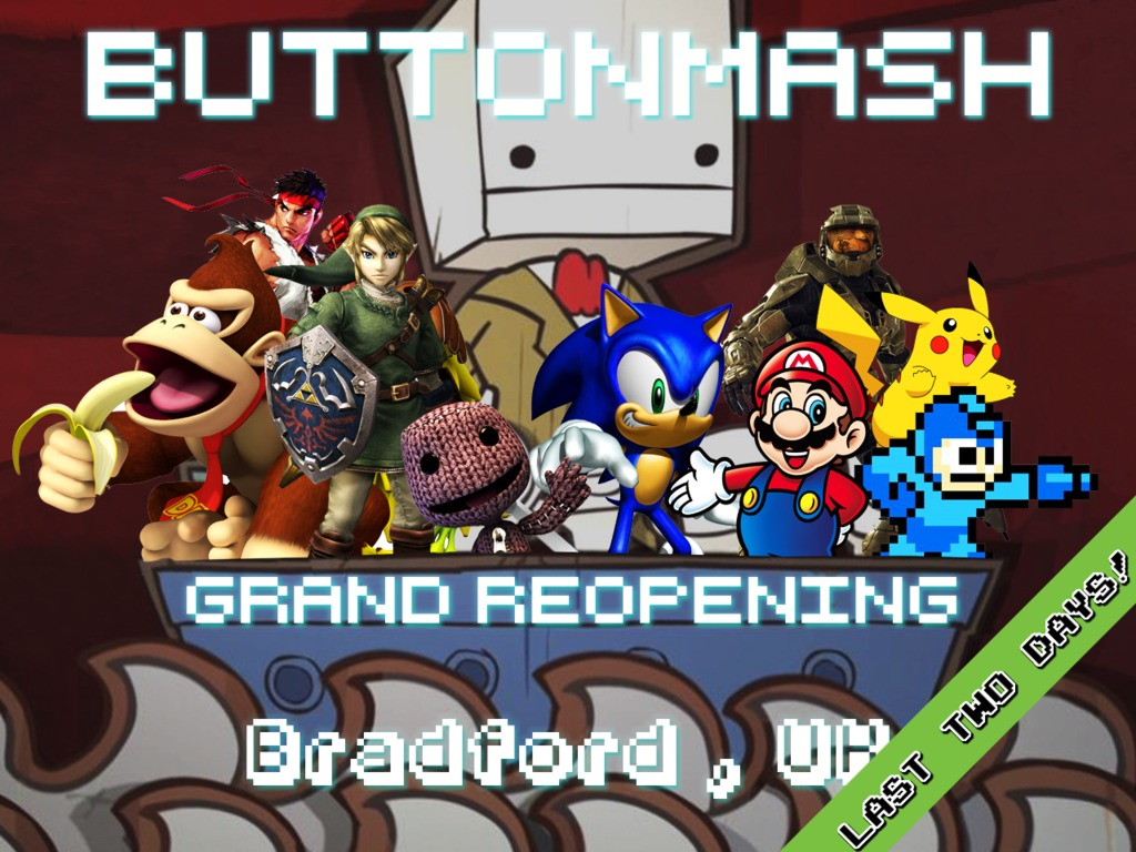 Button Mash's Grand Reopening's video poster