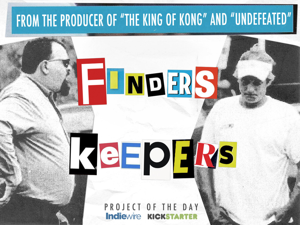Finders Keepers - a stranger than fiction documentary's video poster