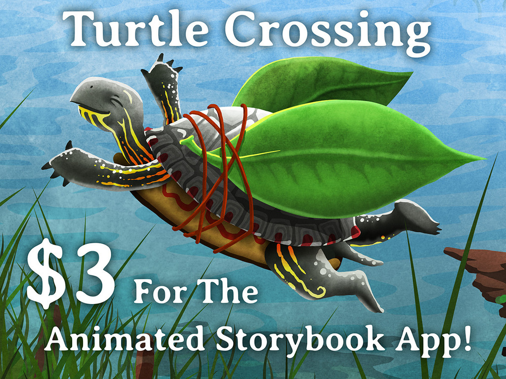 Turtle Crossing - A Storybook App's video poster