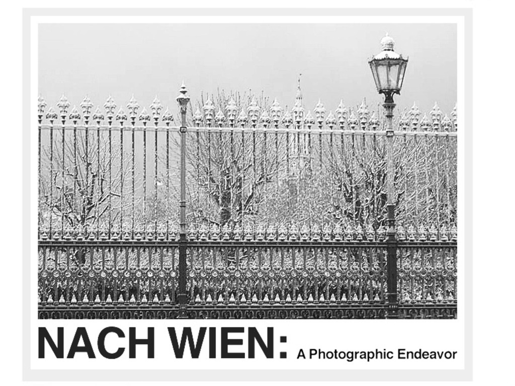 Nach Wien: A Photographic Endeavor's video poster