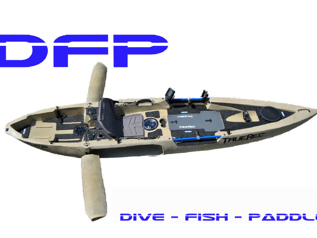 TrueRec introduces the DFP Kayak - Dive Fish Paddle's video poster