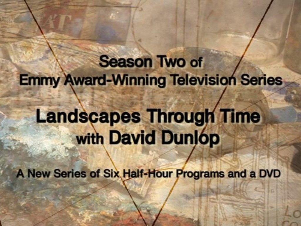 We're back! Season 2 of art series Landscapes Through Time's video poster