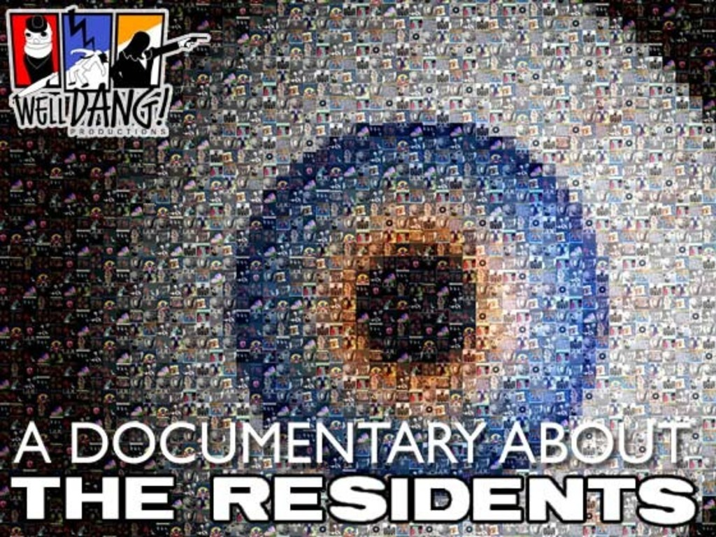 A documentary about The Residents's video poster