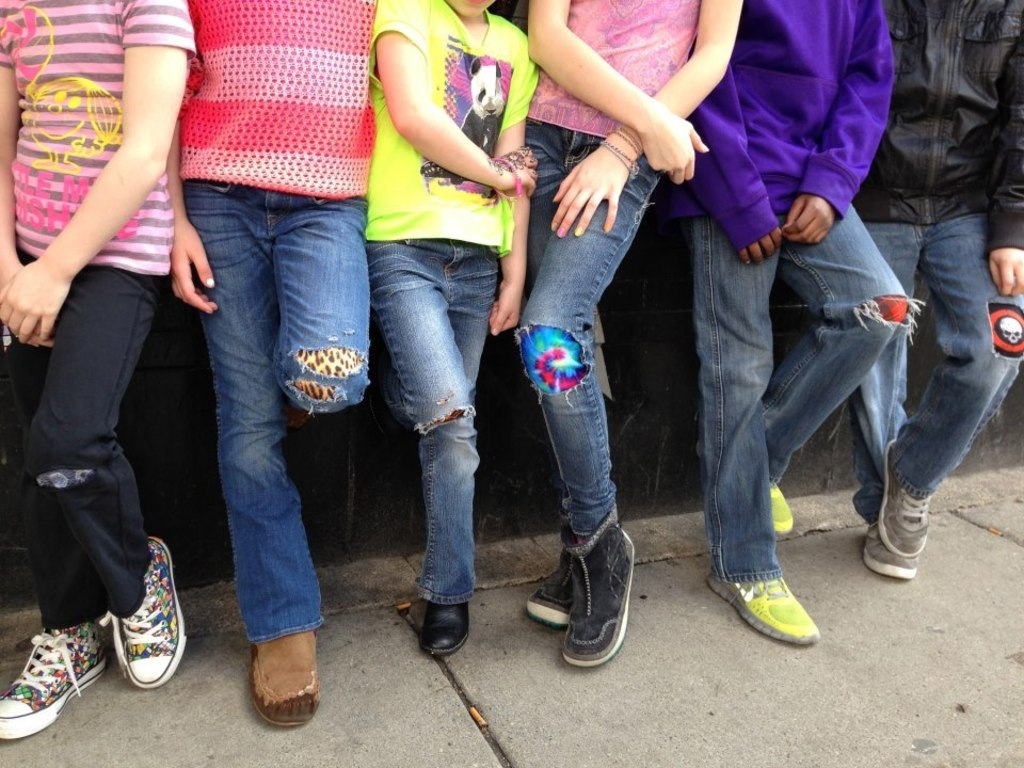 Tat Patch: The tattoo for your jeans!'s video poster