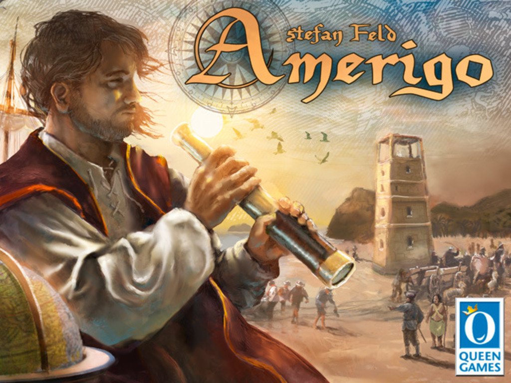 Amerigo - a game of exploration and discovery by Stefan Feld's video poster