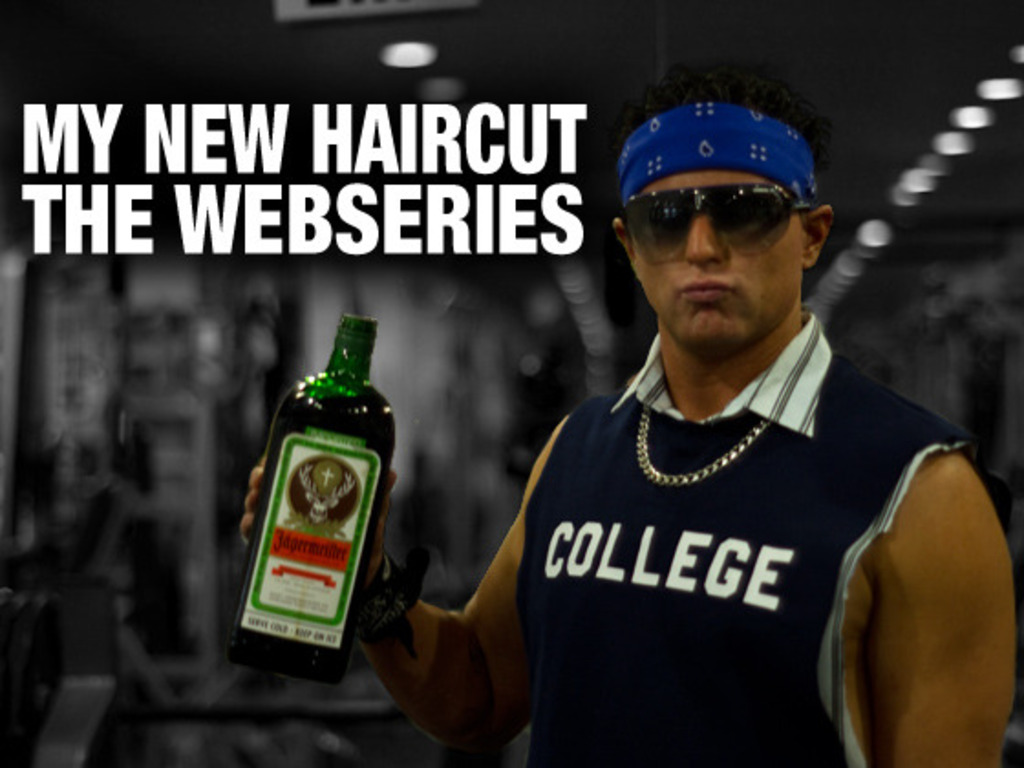 My New Haircut Webseries's video poster