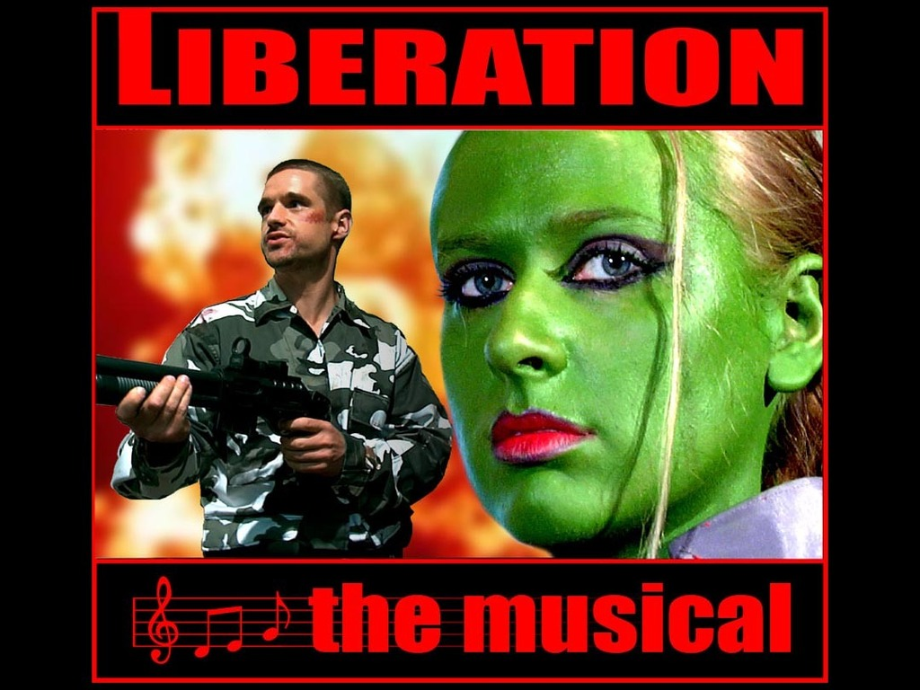 Liberation the Musical (a feature film)'s video poster