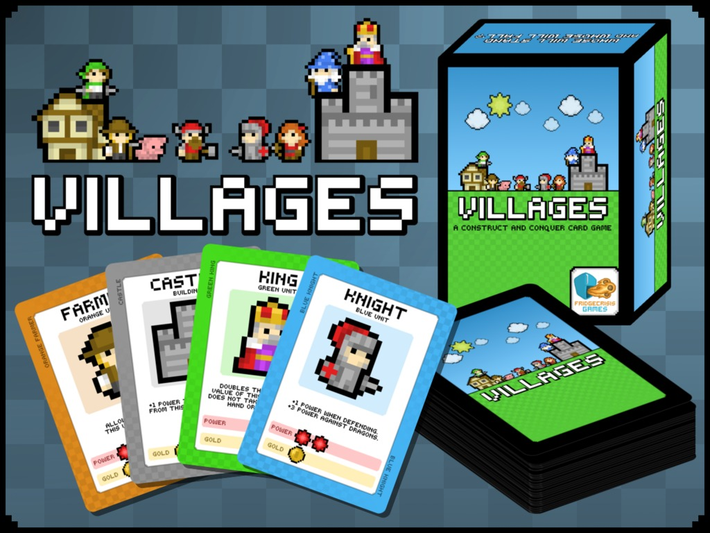Villages: a Construct and Conquer Card Game's video poster