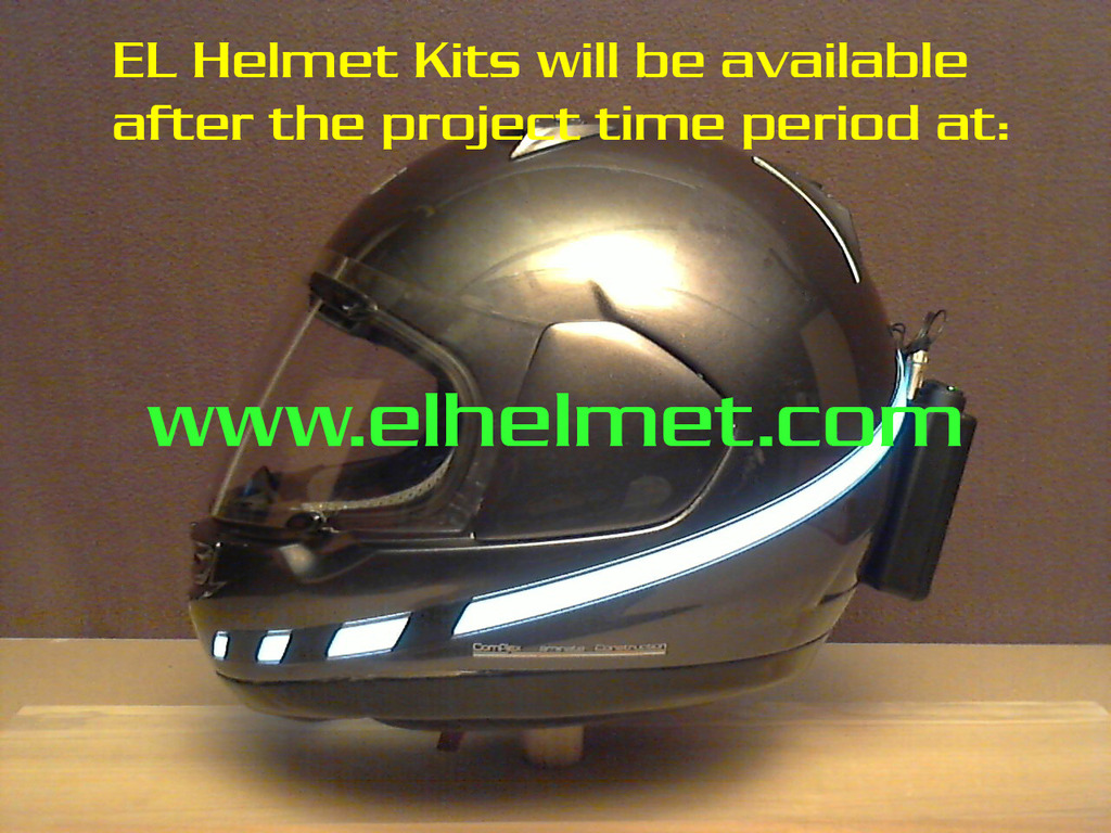 Electroluminescent Helmet Kit's video poster