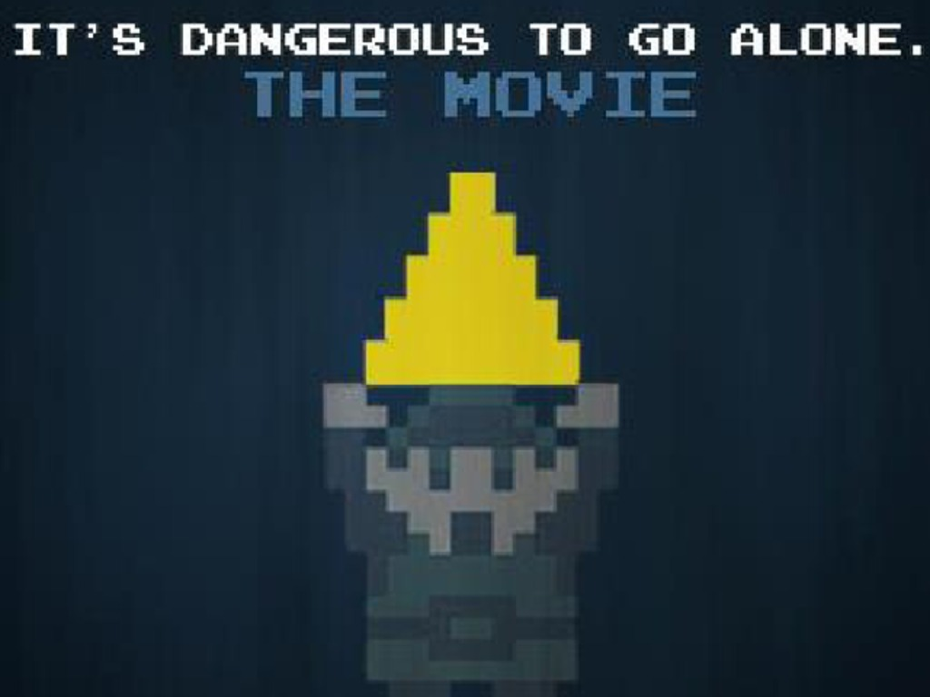 It's Dangerous To Go Alone...The Movie's video poster