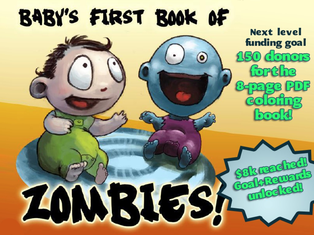 A Baby's First Book of Zombies's video poster