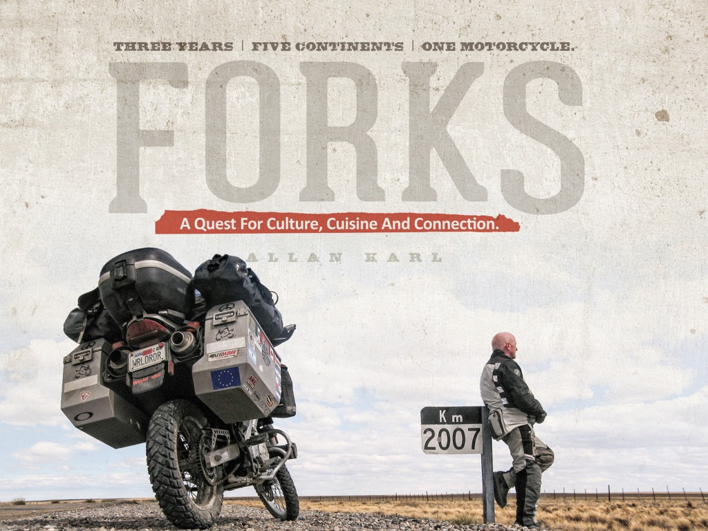 FORKS: Three Years. Five Continents. One Motorcycle.'s video poster