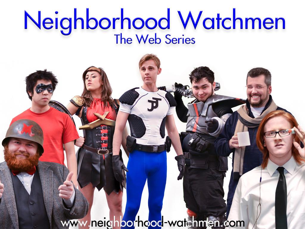 Neighborhood Watchmen's video poster