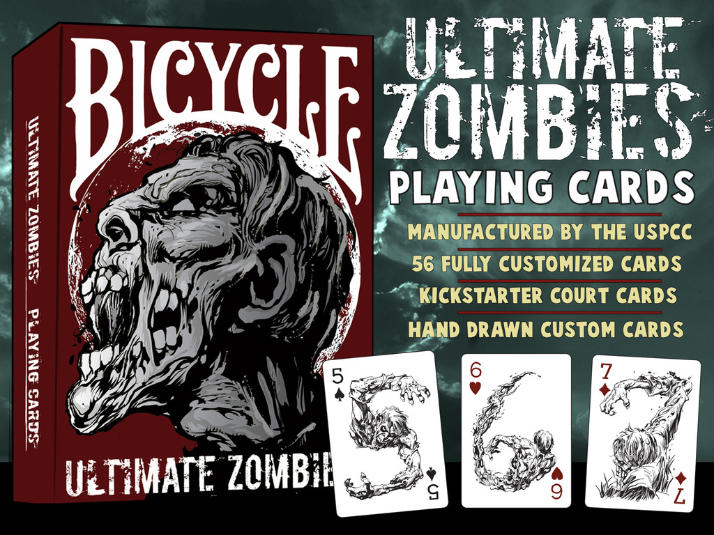 Ultimate Zombies Playing Cards USPCC Bicycle®'s video poster