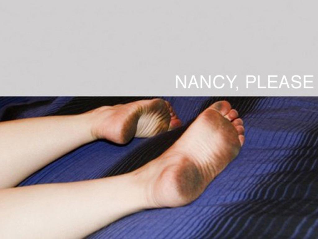 Nancy, Please's video poster