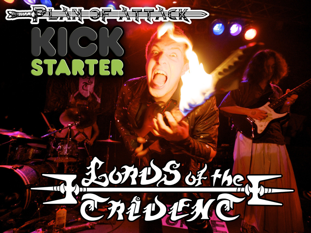 Lords of the Trident - Plan of Attack EP Kickstarter!'s video poster