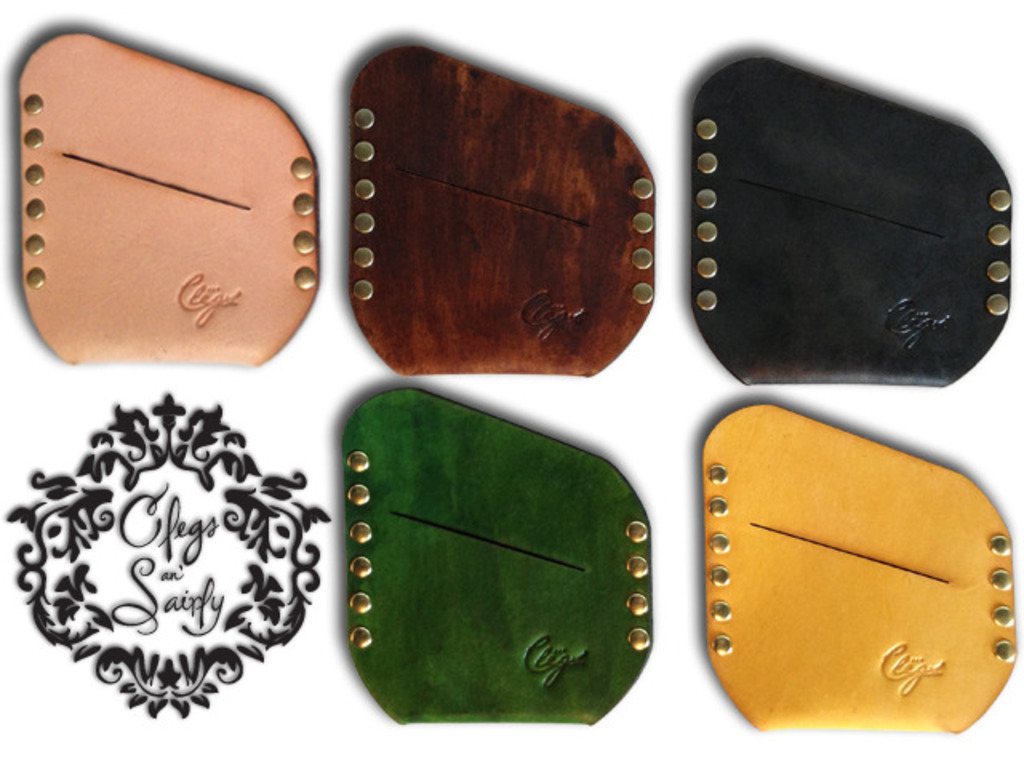 Minimal Leather Wallets from Clegs an' Sairly's video poster