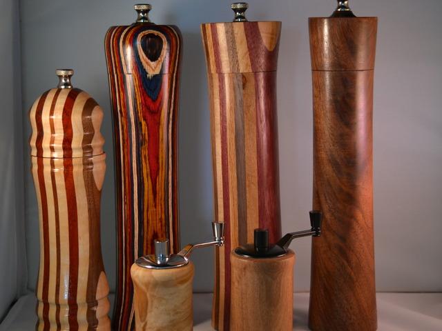 Pdf diy wooden pepper mills download wooden craft plans for Pepper mill plans