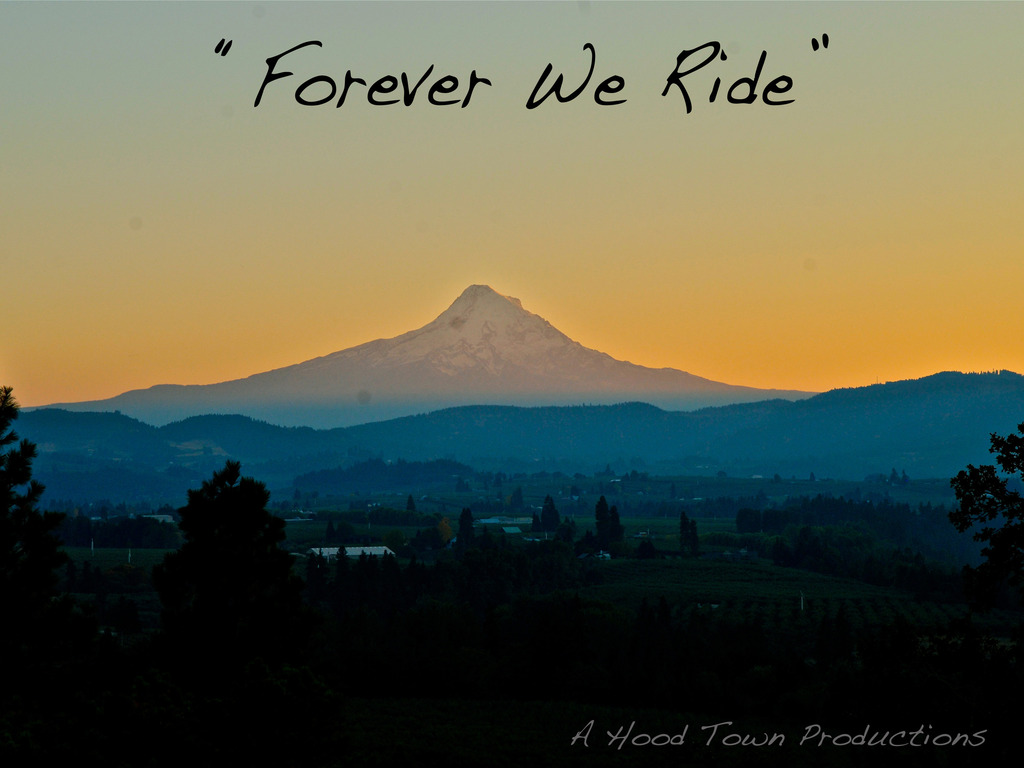 "Hood Town Production's Snowboarding Movie ""Forever We Ride""'s video poster"