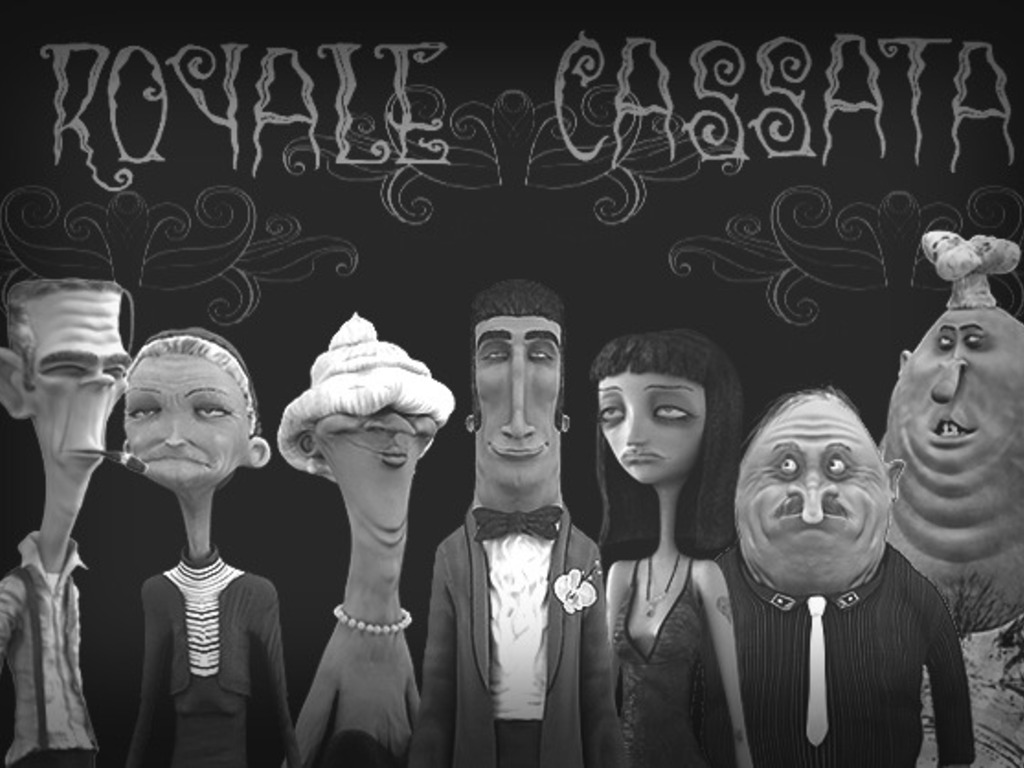 Royale Cassata, a Dark 3D Comedy with Kevin Johansen!'s video poster