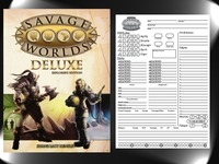 Savage Worlds Character Sheet Pad