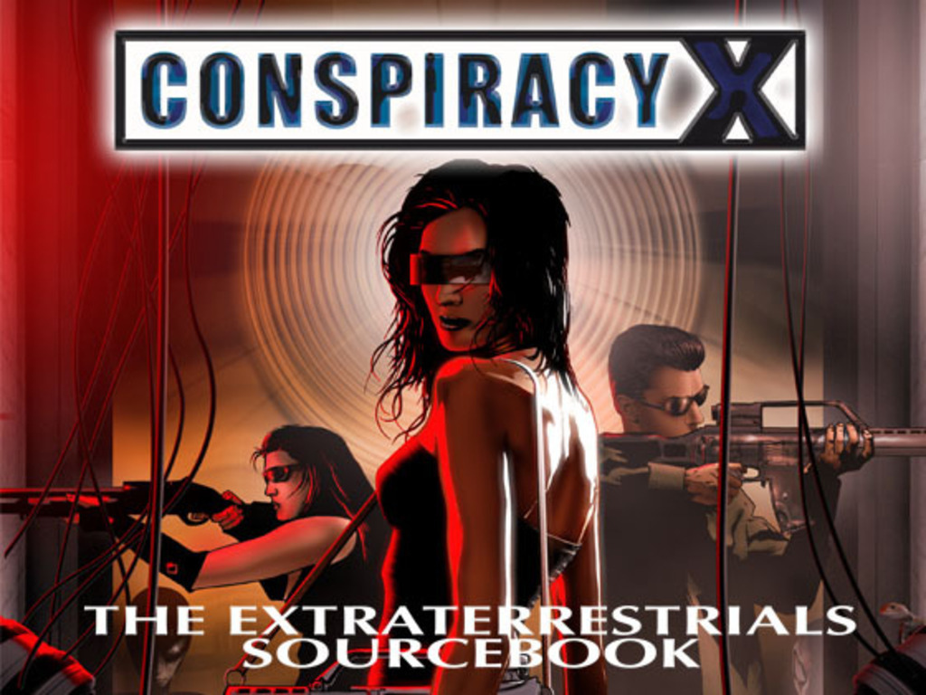 Conspiracy X RPG The Extraterrestrials Sourcebook's video poster