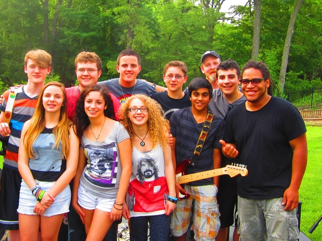 School of rock wayne house band summer tour by school for House music bands
