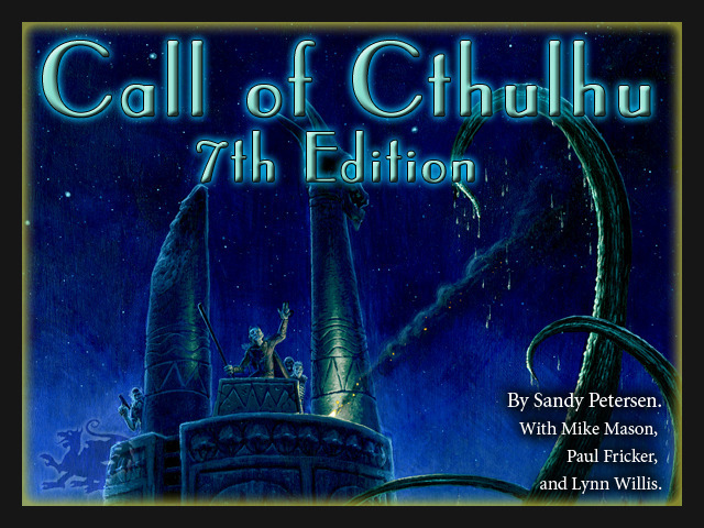 Call of Cthulhu 7th Edition on Kickstarter