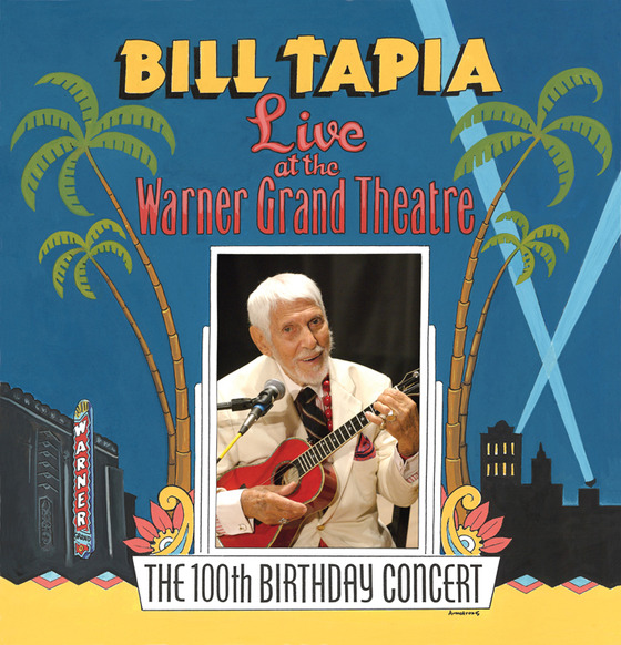 A live album of ukulele legend and jazz guitarist bill for 100th window full album