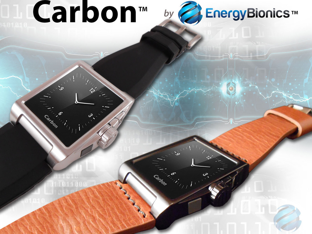 Carbon | Wearable Solar Charger + Analog Watch's video poster