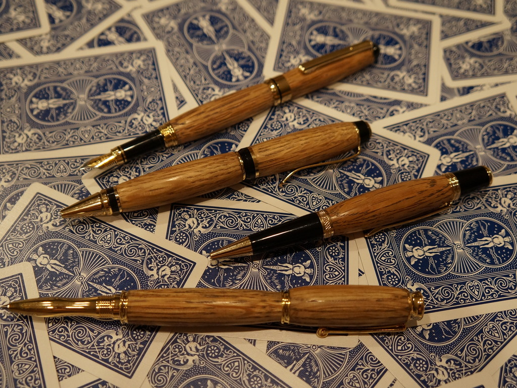 Pens made from wood of used Whiskey Barrels (Jack,Jim,MM)'s video poster