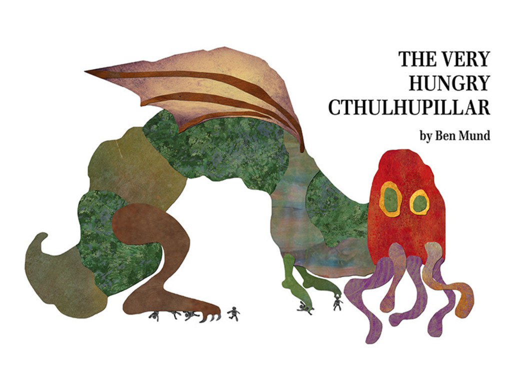 The Very Hungry Cthulhupillar's video poster
