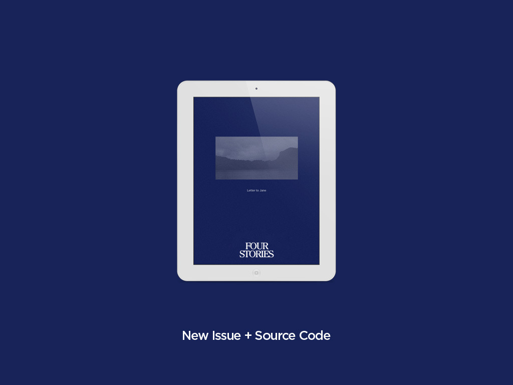 Letter to Jane Magazine for iPad + Source Code's video poster
