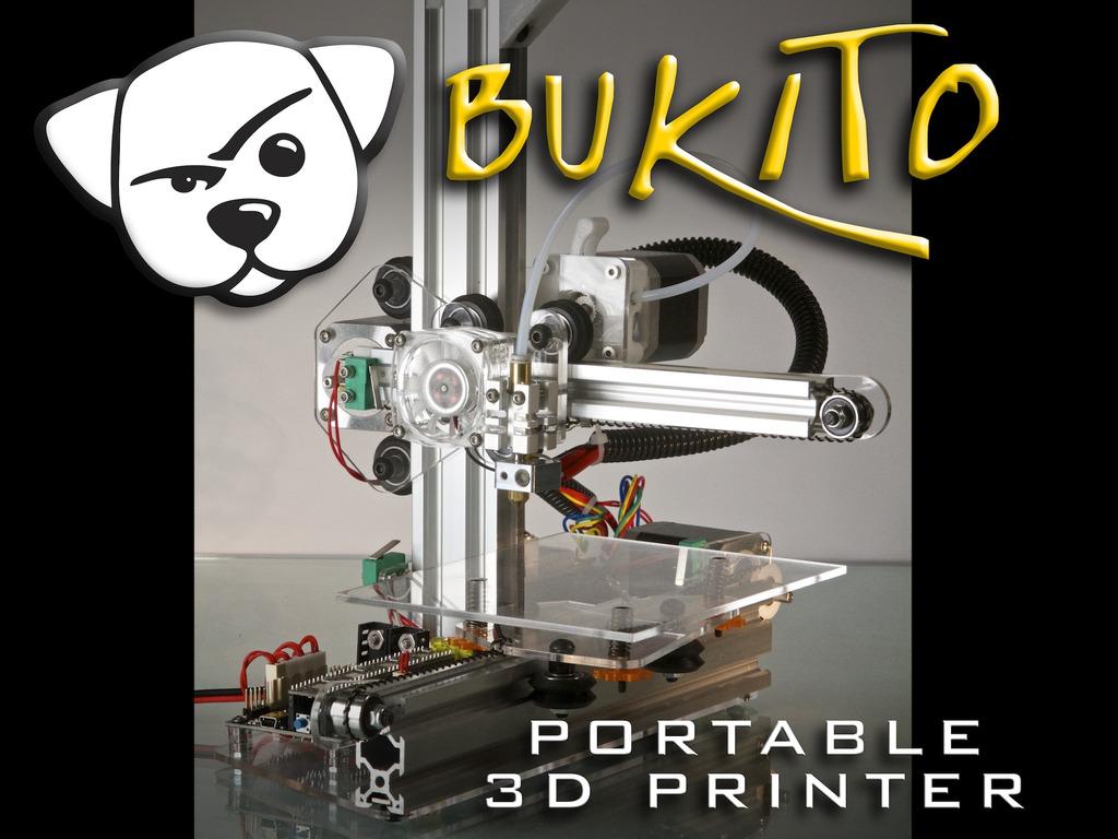 Bukito Portable 3D Printer - Take it everywhere!'s video poster