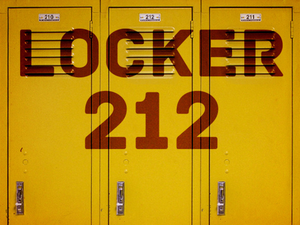 LOCKER 212 film project's video poster