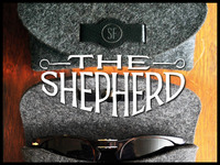 THE SHEPHERD: A Personalized, Smart & 100% Wool Case.